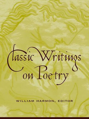 cover image of Classic Writings on Poetry