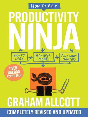 cover image of How to be a Productivity Ninja 2019 UPDATED EDITION