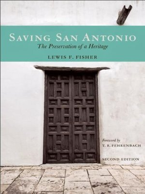 cover image of Saving San Antonio