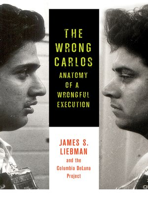 cover image of The Wrong Carlos