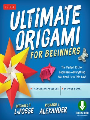 cover image of Ultimate Origami for Beginners Kit Ebook
