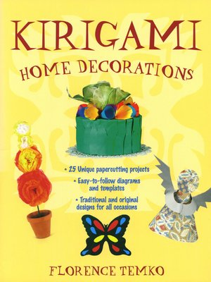 cover image of Kirigami Home Decorations