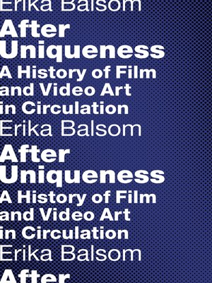cover image of After Uniqueness