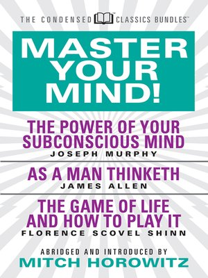 cover image of Master Your Mind (Condensed Classics)