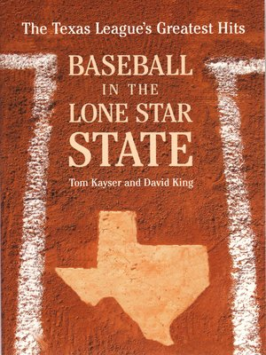 cover image of Baseball in the Lone Star State