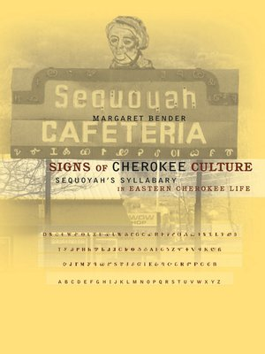 cover image of Signs of Cherokee Culture