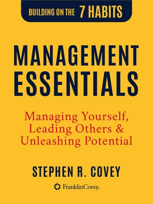 cover image of The Management Essentials