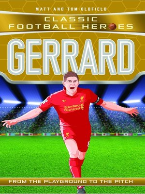 cover image of Gerrard (Classic Football Heroes)--Collect Them All!