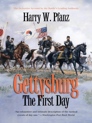 cover image of Gettysburg—The First Day