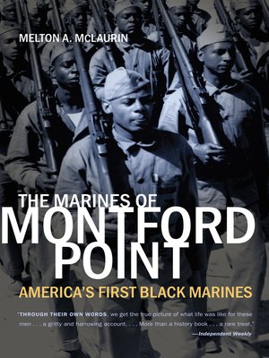 cover image of The Marines of Montford Point
