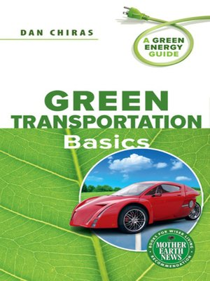 cover image of Green Transportation Basics