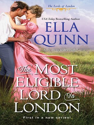 cover image of The Most Eligible Lord in London
