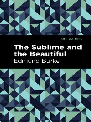 cover image of The Sublime and the Beautiful