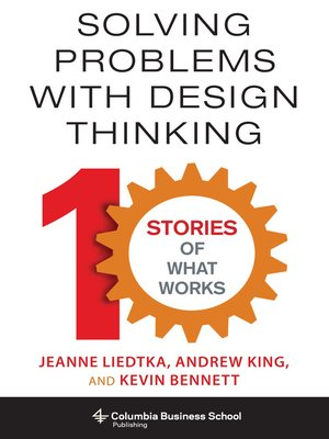 cover image of Solving Problems with Design Thinking