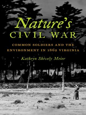 cover image of Nature's Civil War