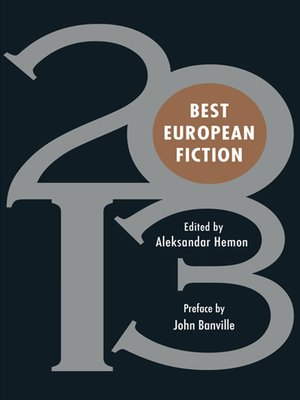 cover image of Best European Fiction 2013