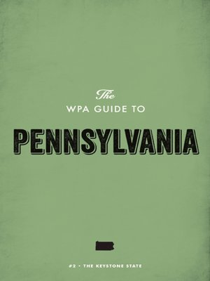 cover image of The WPA Guide to Pennsylvania
