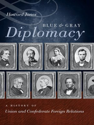cover image of Blue and Gray Diplomacy