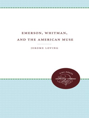 cover image of Emerson, Whitman, and the American Muse
