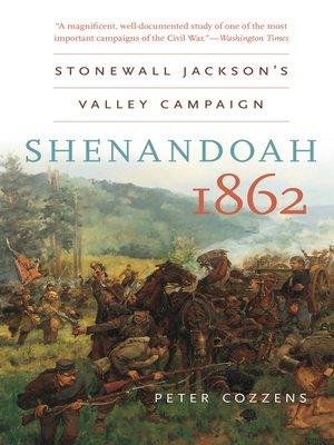 cover image of Shenandoah 1862