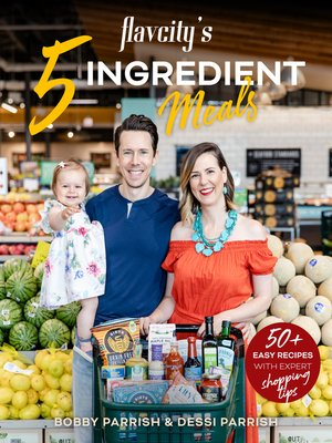 cover image of Flavcity's 5 Ingredient Meals