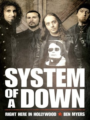 cover image of System of a Down--Right Here in Hollywood