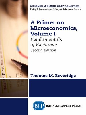 cover image of A Primer on Microeconomics, Volume I