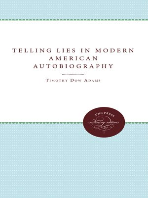 cover image of Telling Lies in Modern American Autobiography