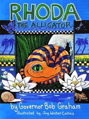 cover image of Rhoda the Alligator