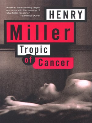 cover image of Tropic of Cancer