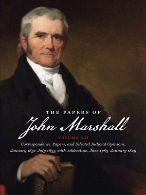 cover image of The Papers of John Marshall