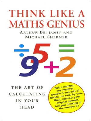 cover image of Think Like a Maths Genius