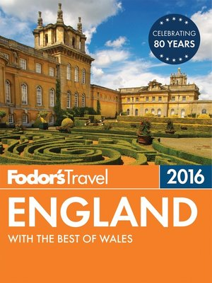 cover image of Fodor's England 2016