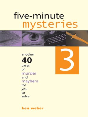 cover image of Five-minute Mysteries 3