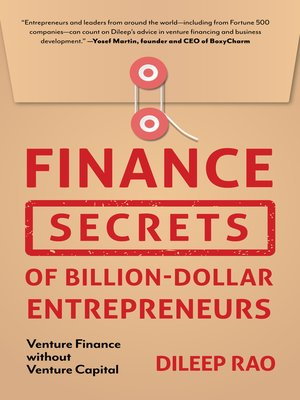 cover image of Finance Secrets of Billion-Dollar Entrepreneurs