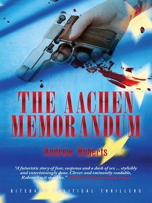 cover image of The Aachen Memorandum