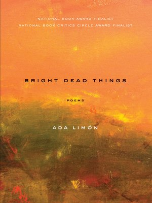 cover image of Bright Dead Things