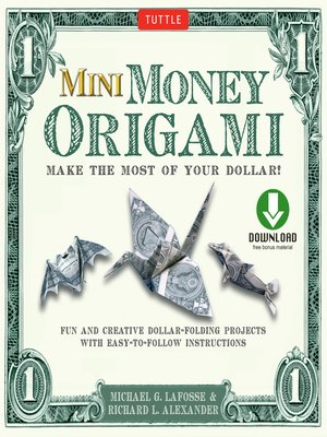cover image of Mini Money Origami Kit Ebook