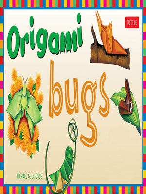 cover image of Origami Bugs