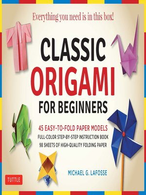cover image of Classic Origami for Beginners Kit Ebook