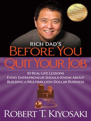 cover image of Rich Dad's Before You Quit Your Job