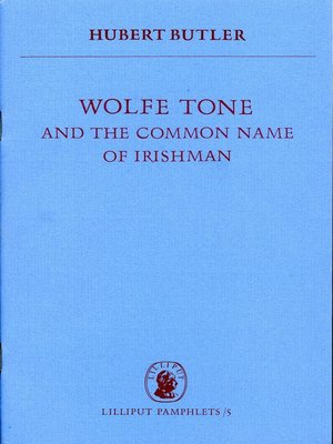cover image of Wolfe Tone