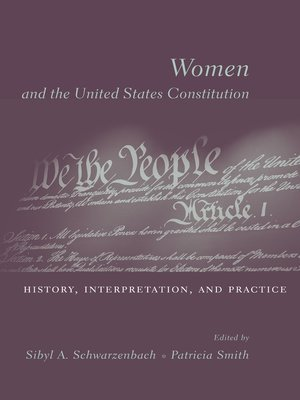 cover image of Women and the U.S. Constitution