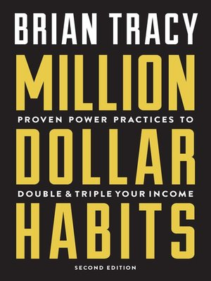 cover image of Million Dollar Habits