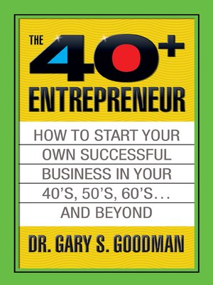 cover image of The Forty Plus Entrepreneur