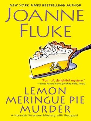 cover image of Lemon Meringue Pie Murder