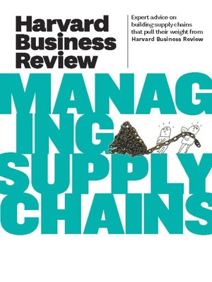 cover image of Harvard Business Review on Managing Supply Chains