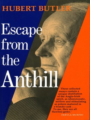 cover image of Escape from the Anthill