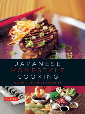 cover image of Japanese Homestyle Cooking