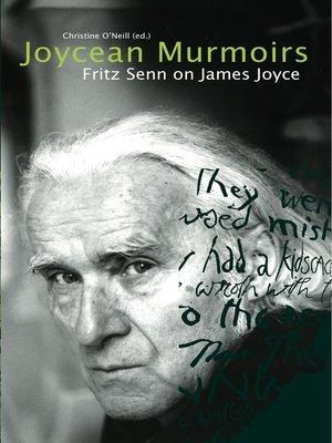 cover image of Joycean Murmoirs